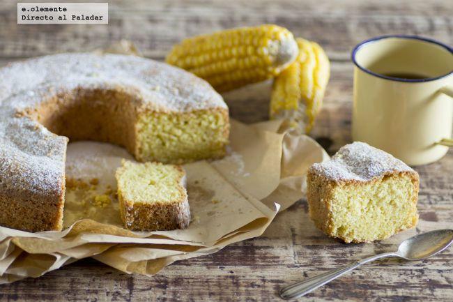 Hoy para desayunar energía pura con este bizcocho de harina de maíz y limón. En…