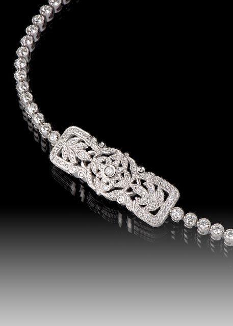 JPratt Designs: Custom designed and custom created bracelet for women with a beautiful center link