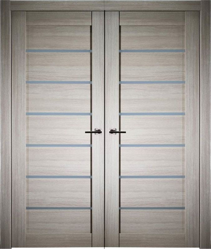Prefinished Elva Light Oak Modern Interior Double Door In 2020 Double Doors Interior Modern Interior Doors Interior Modern