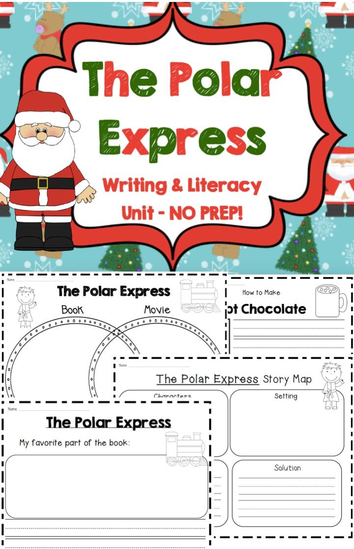 Polar Express Worksheets : The best images about polar express on pinterest