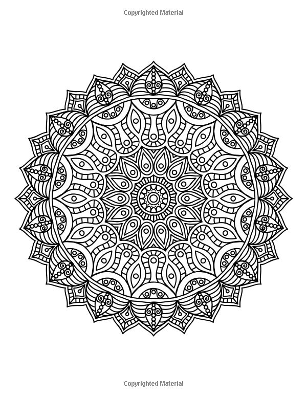 Mandala Coloring Book Vol 5 50 Advanced Patterns Mjt Publishing Penny Farthing