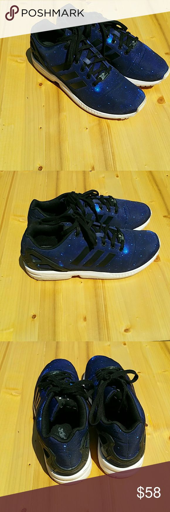 ADIDAS Torsion ZX FLUX GALAXY MEN SIZE 11 ADIDAS ZX FLUX GALAXY MEN SIZE 11 REFLECTIVE 3M B34056 ORIGINAL / Made in Vietnam adidas Shoes Sneakers