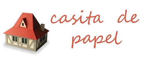 Casita de papel - mil objetos y casitas hechos con papel