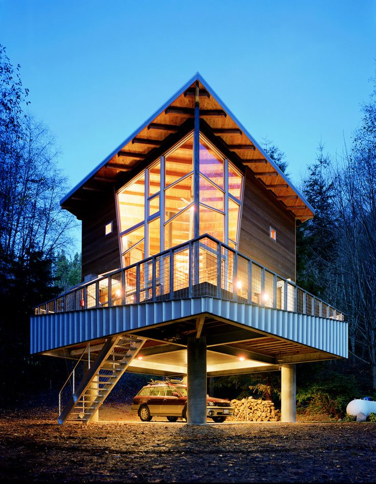 The Treehouse | Small House Swoon