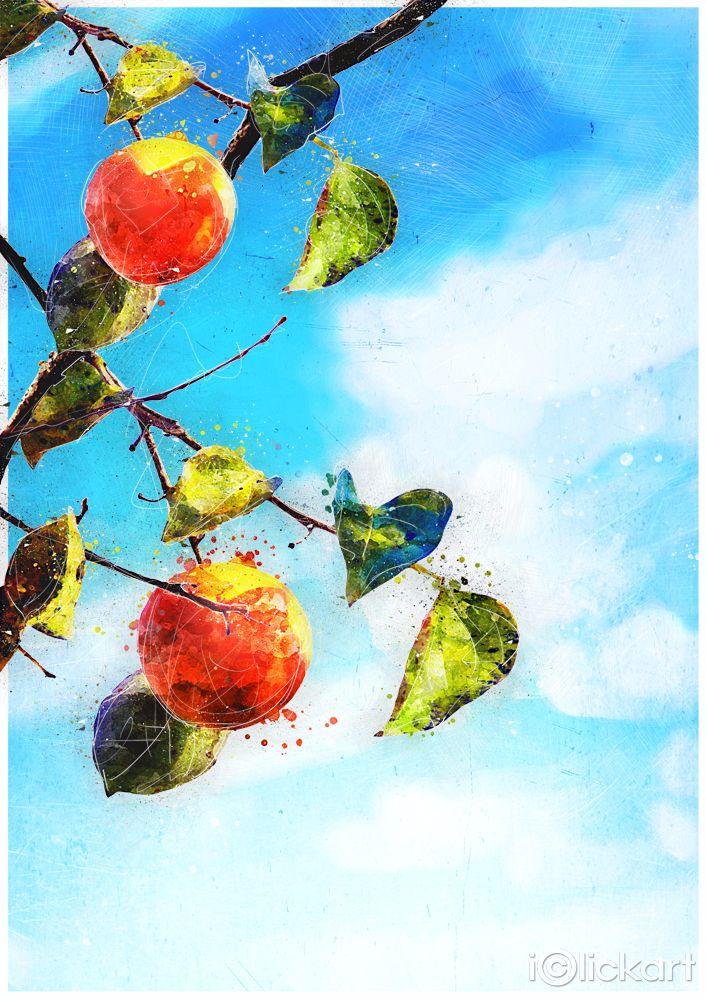 #가을, #수채화, #풍경, #낙엽, #편집이미지, #일러스트, #스톡이미지, #엔파인, #아이클릭아트, #Click_your_heart