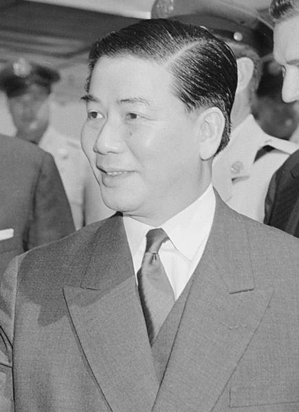 Ngô Đình Diệm (January 3, 1901 – November 2, 1963) was the first President of the Republic of Vietnam (1955–1963).