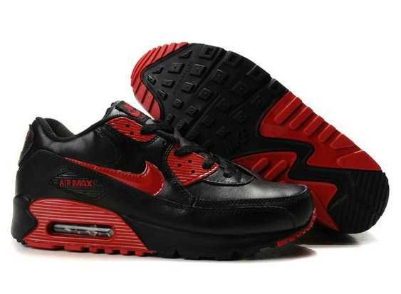 Cheap Nike Air Max 90 Mens Black Red Sports Direct
