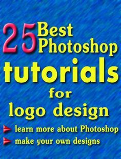 I have compiled the 25 Best Photoshop tutorials for logo design. Some of the links will give you plenty of skills for designing icons, patterns and other cool stuff for your logo design. - See more at: http://www.tutorialboneyard.com/Pages/photoshop_logo_tutorial_roundup.aspx#sthash.e4Yk80gR.dpuf
