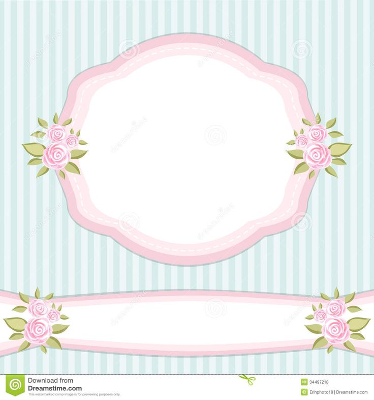 vintage-frame-floral-roses-shabby-chic-style-34497218.jpg (1300×1390)