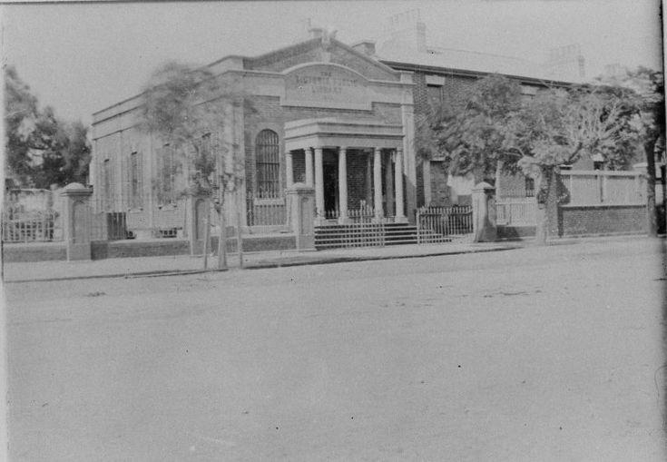 024609PD: The Victoria Public Library St George's Terrace, Perth, 1897 https://encore.slwa.wa.gov.au/iii/encore/record/C__Rb2987152