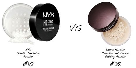 Prom Makeup, Drugstore Makeup Dupes, Prom, NYX, Laura Mercier, Translucent Powder, Makeup Setting Powder