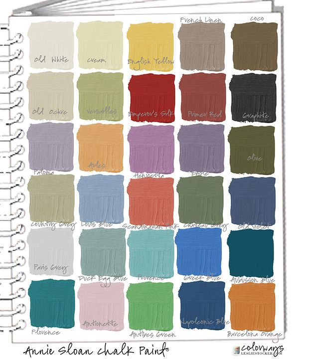 annie sloan chalk paint green custom color swatches colorway