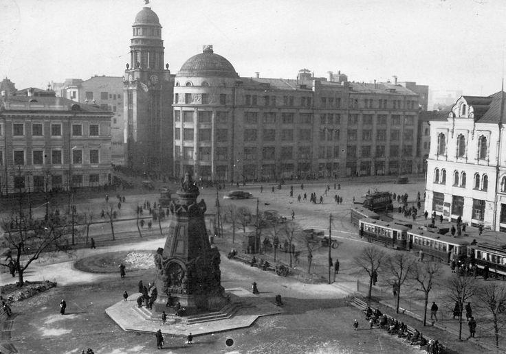 Уникальные панорамные фото старой Москвы (с изображениями ...