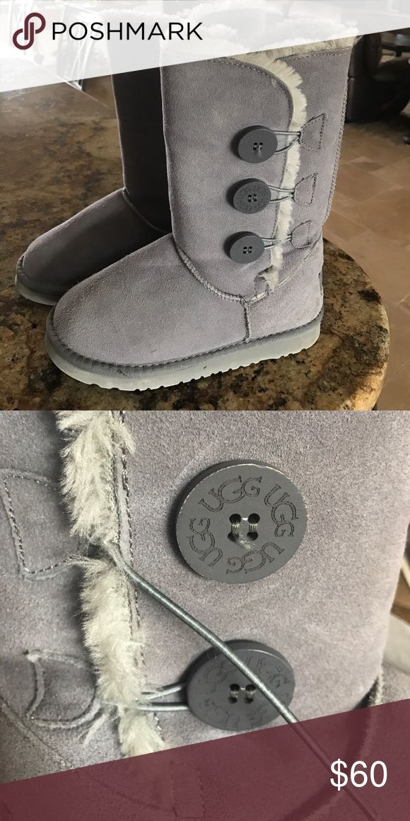 UGG boots Grey UGG boots UGG Shoes Boots