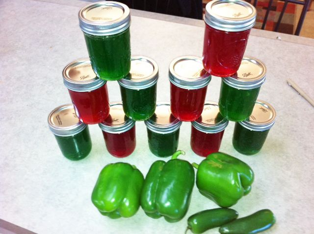 HOT GREEN PEPPER JELLY - An Old Fashioned Recipe from the hills of Virginia