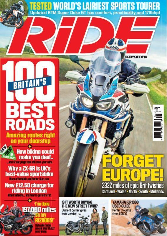 Ride June 2019 Touring Ktm Super Duke Magazine