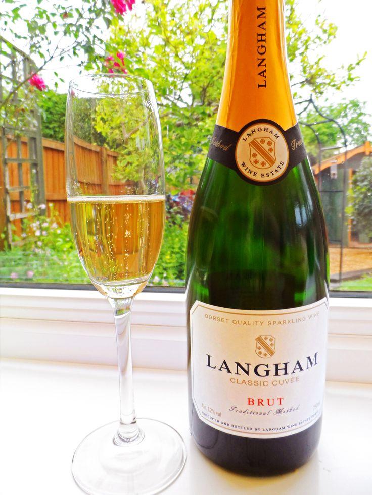 Langham Classic Cuvee & the Festival sparkling wine glass.