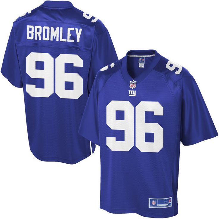 NFL Pro Line Men's New York Giants Jay Bromley Team Color Jersey