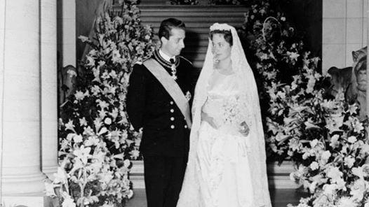 02/07/2014..Il y a 55 ans aujourd'hui qu'Albert, Prince de Liège, unissait son destin à celui de Paola Ruffo di Calabria ! Le Roi Albert et la Reine Paola fêtent ce mercredi leurs noces d'orchidée...