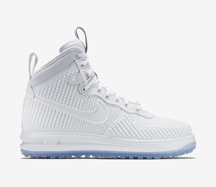 Nike Lunar Force 1 Duckboot – White / Anthracite – White