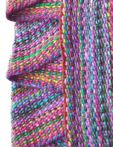 Seed stitch using Noro that looks like linen stitch according to the OP. Whichever, it's lovely