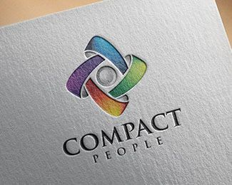 Logo Design - COMPACT This stunning logo design was created by AMCstudio