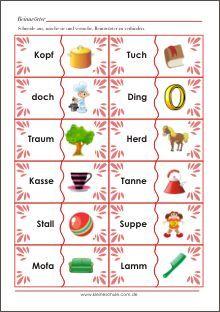 19 best Vorschularbeitsblätter images on Pinterest | Kindergarten ...