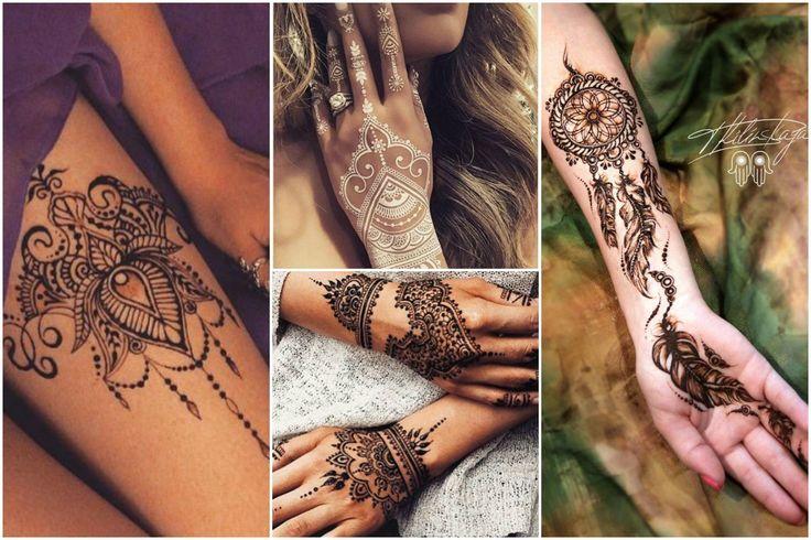 Buďte in s hennou! Vyskúšajte henna tetovanie - KAMzaKRÁSOU.sk