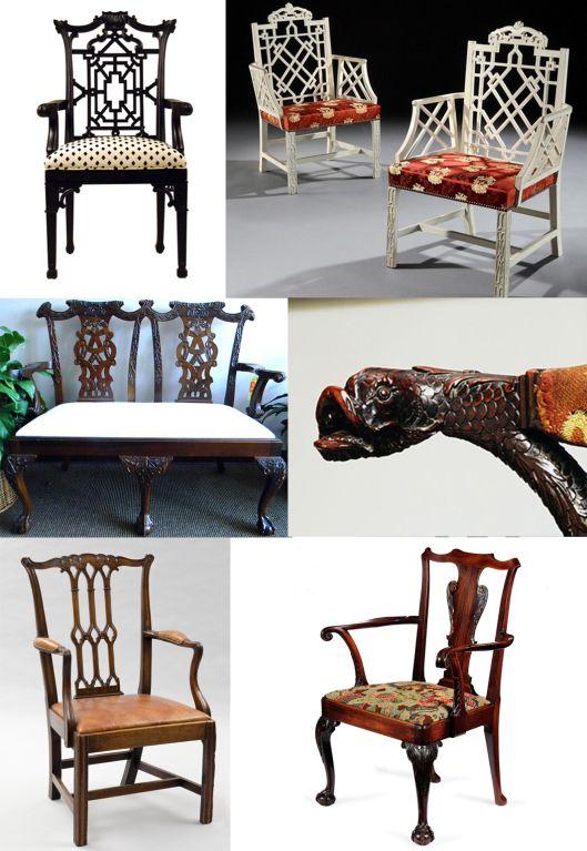17 mejores ideas sobre sillas chippendale en pinterest - Sillas chippendale ...