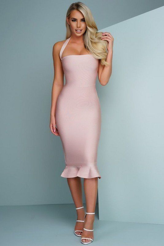 The gorgeous Berry Midi 'Charlotte' Bandage Dress is the perfect classy and fabulous dress for any occasion or event.