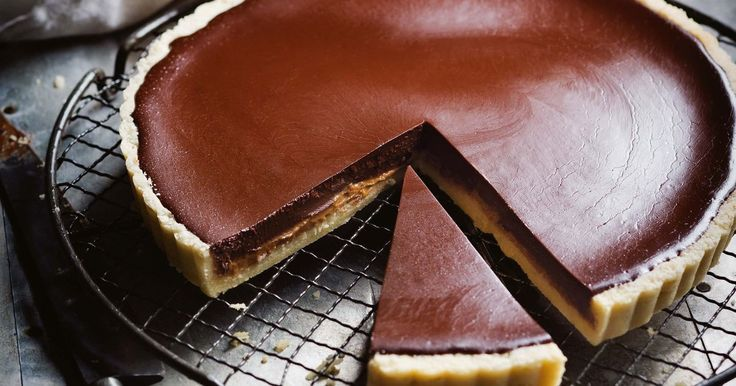 Master the art of the tart with Manu Feildel's choc-caramel creation.