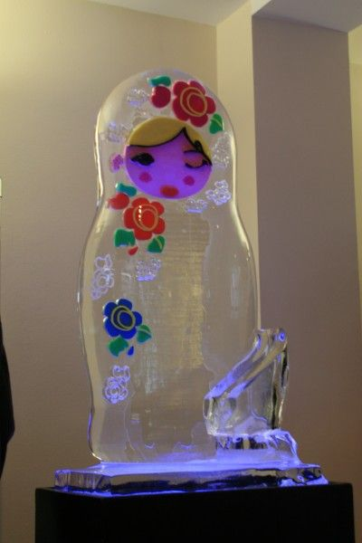 Russian Doll Ice Luge