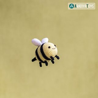Little bee free crochet pattern