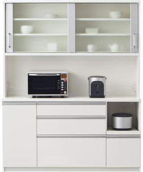 食器棚はお手頃ニトリにしようと思ってたら、パモウナってなんだ ... ニトリキッチンボード