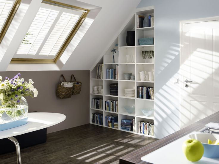 For all those pitched roof bonus rooms out there!