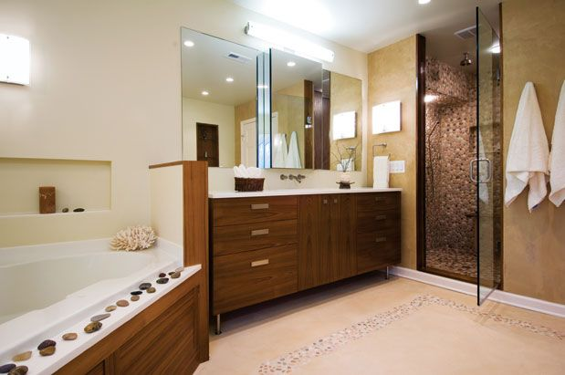 I love the shower and the clean, contemporary lines