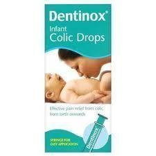 Dentinox Infant Colic Drops Provide Fast, Effective Pain Relief From Birth Onwards. The Medicine Helps To Relieve The Abdominal Pain (Gripe, Colic Or Wind) That Is Common In Both Breast And Bottle Fed Babies As A Result Of Trapped Wind Caused By Swallowing Air.Pack Size100Mlwarningsdo Not Give...