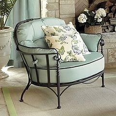 The Ballard Design outdoor furniture line I like.