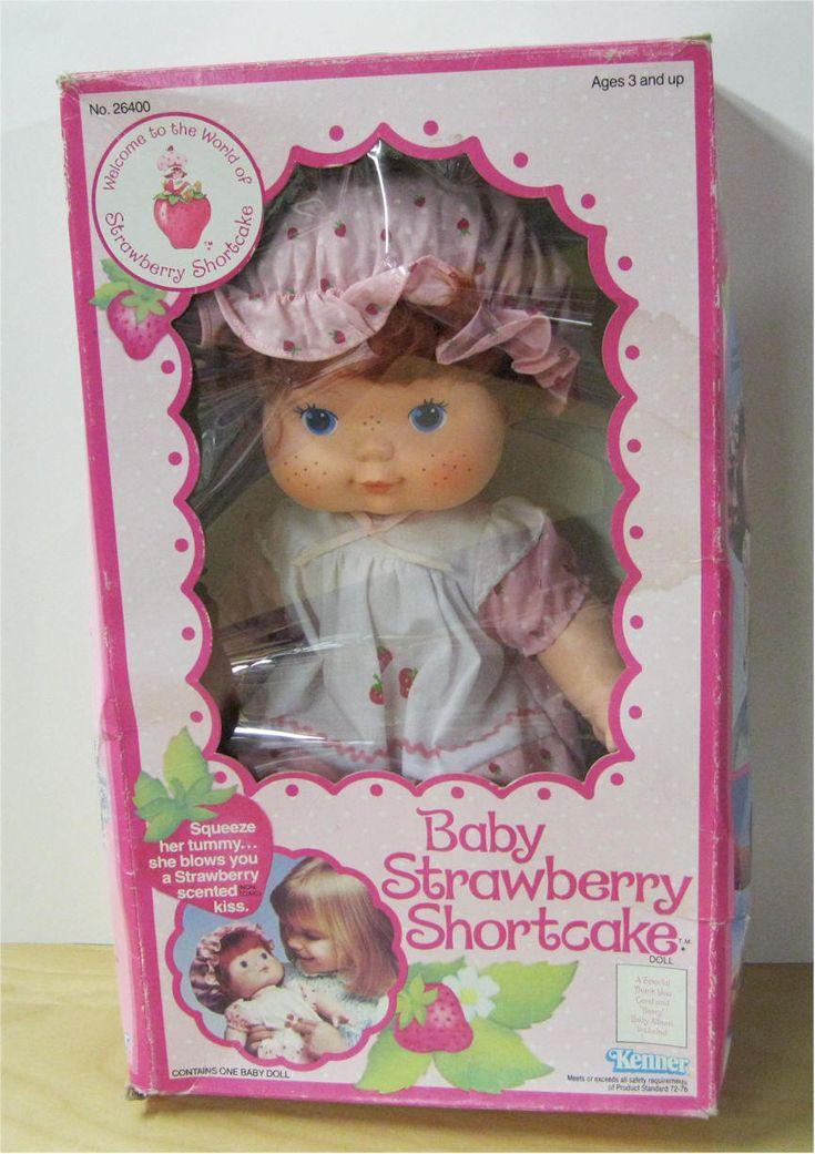 Baby Strawberry Shortcake blow kisses baby doll. I loved mine x
