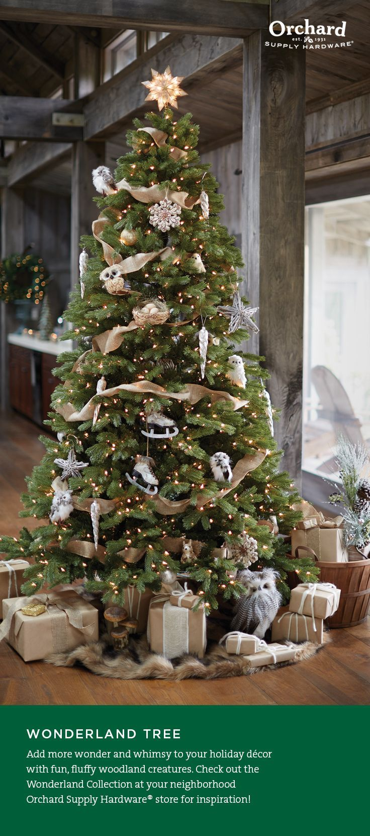 let orchard supply hardware help you create a beautiful tree this holiday season all you need are the right touches for a tree filled with fun and flair