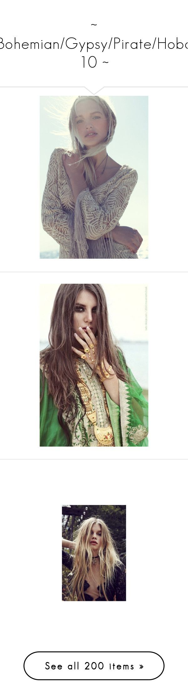 """~ Bohemian/Gypsy/Pirate/Hobo 10 ~"" by romantiquechic ❤ liked on Polyvore featuring backgrounds, people, photos, pictures, accessories, hair accessories, hair, models, bridal hair accessories and bridal crown"