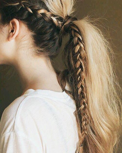 Braid summer hair