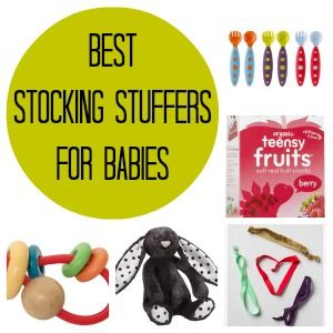 Stumped about what to put in your baby's stocking this Christmas? Well, never fear, here are 15 great ideas for baby-friendly stocking stuffers!
