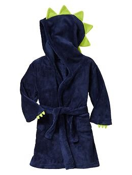 Fleece dinosaur robe   Gap