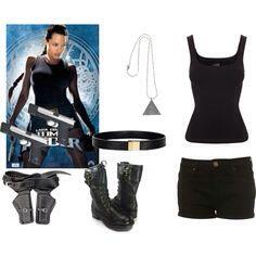 Lara croft outfit inspiration