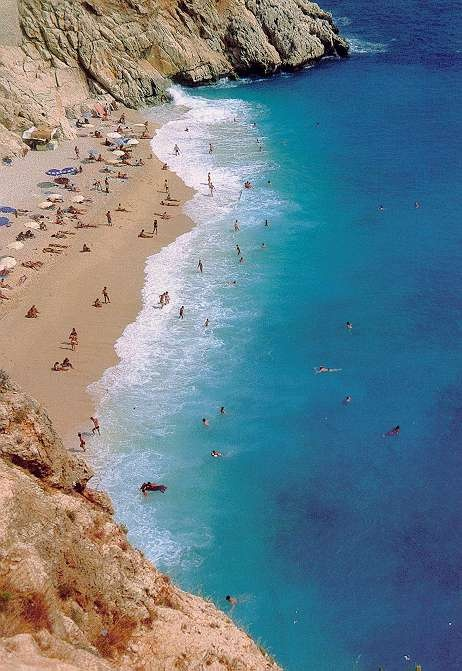 waking up to this at Kaputaş beach-Kaş kalkan, South Turkey
