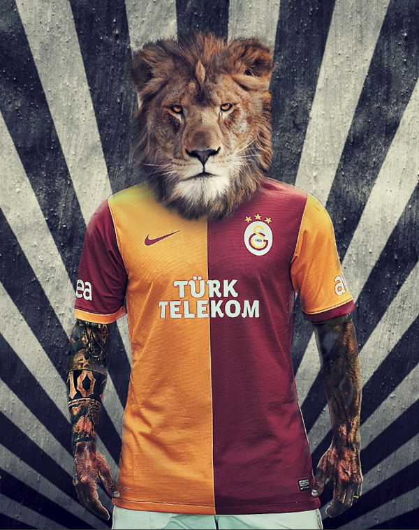 Galatasaray New Season Uniform by Fırat Doger, via Behance
