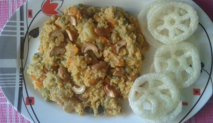 Thinai arisi sambar sadam – famous Indian Recipes – Millet Recipes