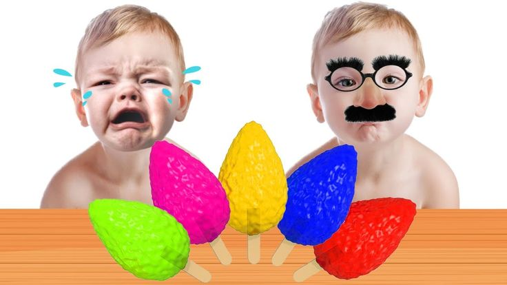 Bad Baby with Tantrum and Crying for Lollipops & Ice Cream Little Babies...