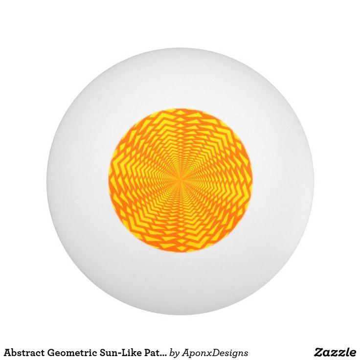 Abstract Geometric Sun-Like Pattern